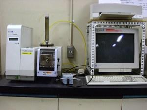 TG/DTAガストランスファー分析システム