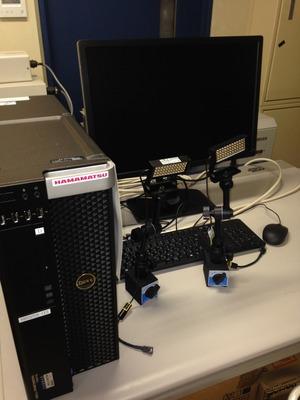 文化財赤外紫外線撮影装置